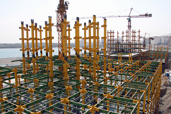 Comparison of steel and concrete structures